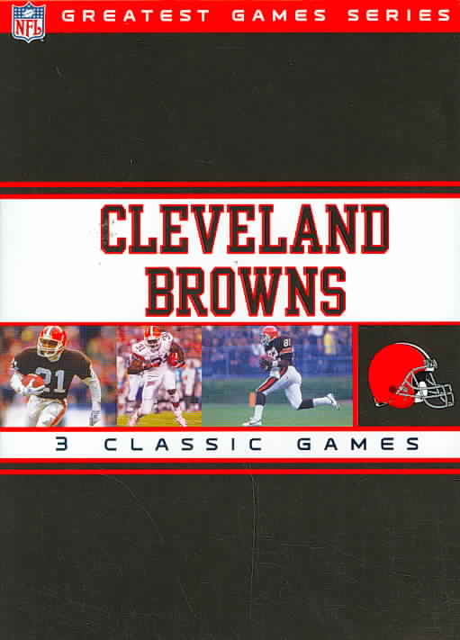 NFL GREATEST GAMES SERIES:CLEVELAND B BY NFL GREATEST GAMES (DVD) [3 DISCS]